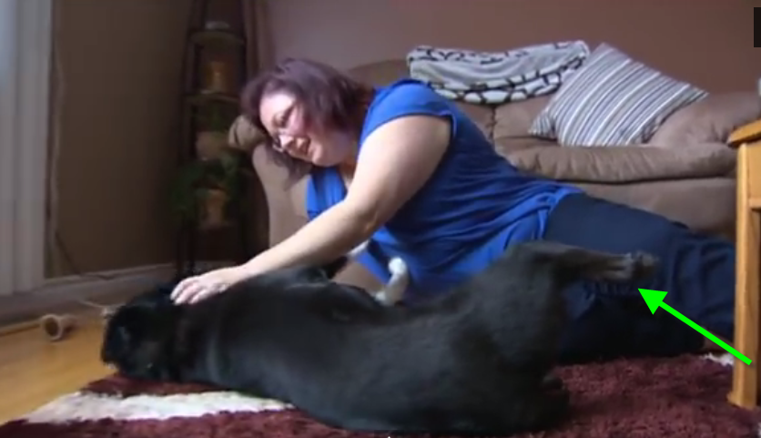 He lost his legs after they were frozen, but there is a thing that changed his life forever