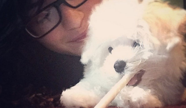 Demi-Lovato-Dog-Buddy-Dies-Pictures