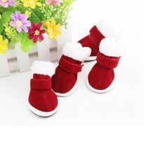 4 Santa Claus Boots for Dogs