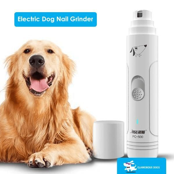 The Electric dog nail grinder a perfect solution of How to clip dog nails that are black